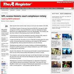 GPL scores historic court compliance victory
