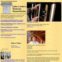 _ Historic HomeWorks, Home Page