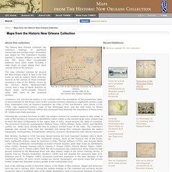 Maps from the Historic New Orleans Collection