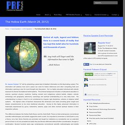 The Hollow Earth & the Inner Earth...an historic overview