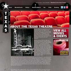The Texas Theatre in Dallas, Texas