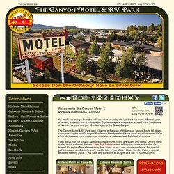 The Canyon Motel and RV Park - Route 66 - Williams, Arizona