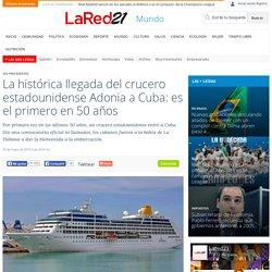 La histórica llegada del crucero estadounidense Adonia a Cuba: es el primero en 50 años