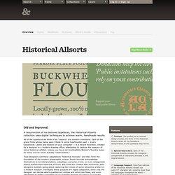 Historical Allsorts