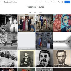 Personnages historiques - Répertoriés par Google Arts&Culture