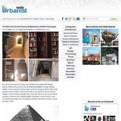 10 Historical Secret Rooms and Hidden Passages