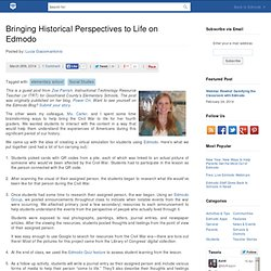 Bringing Historical Perspectives to Life on Edmodo