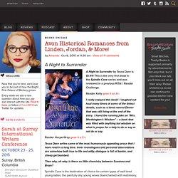 Avon Historical Romances from Linden, Jordan, & More!