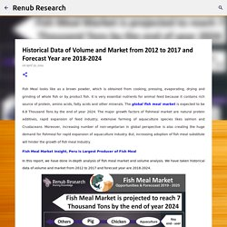 Historical Data of Volume and Market from 2012 to 2017 and Forecast Year are 2018-2024