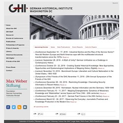 German Historical Institute Washington DC
