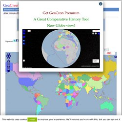 Interactive Historical World Atlas