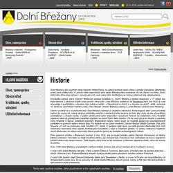 Historie: Dolní Břežany