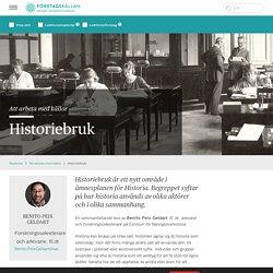 Historiebruk - Företagskällan