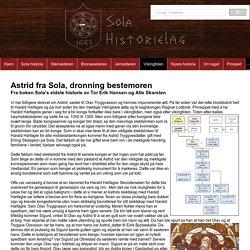 Sola Historielag - Astrid, dronning bestemoren