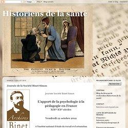 Journée de la Société Binet-Simon