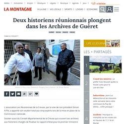 Deux historiens réunionnais plongent dans les Archives de Guéret - Guéret (23000)