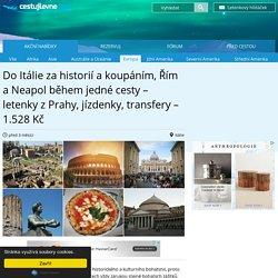 Itálie - moře i historie
