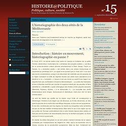 15 : Pistes & débats : L'historiographie des deux côtés de la Méditerranée