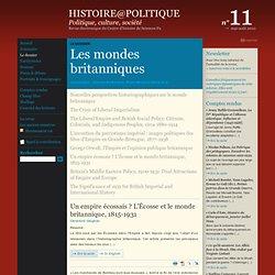 11 : Le dossier : Nouvelles perspectives historiographiques sur le monde britannique