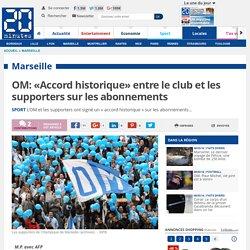 OM: «Accord historique» entre le club et les supporters sur les abonnements