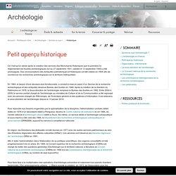Historique - Archéologie