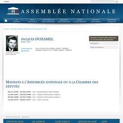 Jacques Duhamel