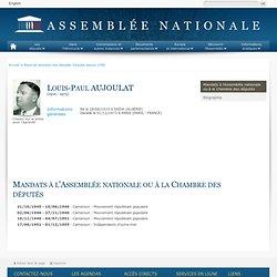 Jean-paul Aujoulat 1910-1973