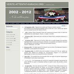 08/05/2002 ATTENTAT de KARACHI