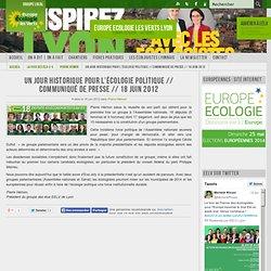 L'Écologie politique au Parlement français
