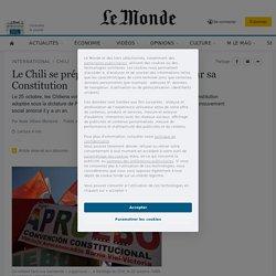 Le Chili se prépare à un vote historique sur sa Constitution