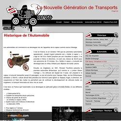 Historique de l'Automobile