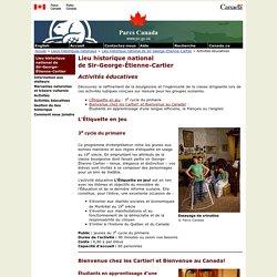 Lieu historique national de Sir-George-Étienne-Cartier - Activités éducatives