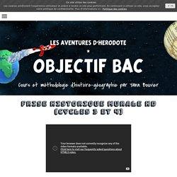 Frise historique murale HD (cycleS 3 et 4) - Cours d'Histoire Géographie en Lycée par Yann Bouvier