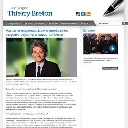 """Pas de possibilité de commenter et pas de """"Je"""" = pas un BLOG (blog de Thierry Breton"""