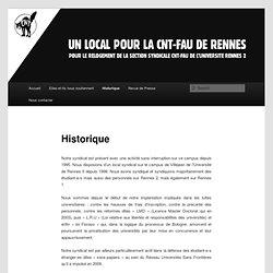 CNT université Rennes