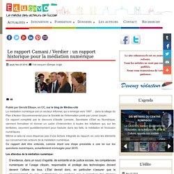 Le rapport Camani / Verdier pour la médiation numérique