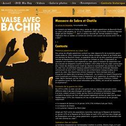 Contexte historique - Valse avec Bachir en DVD et Blu-ray - Editions Montparnasse