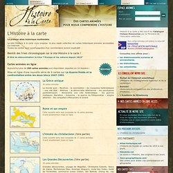 un atlas historique multimédia constitué de cartes animées pour mieux comprendre l'Histoire