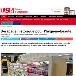 Dérapage historique pour l'hygiène-beauté - DPH (Droguerie, parfumerie, hygiène)