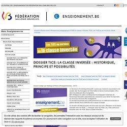 La classe inversée : historique, principe et possibilités