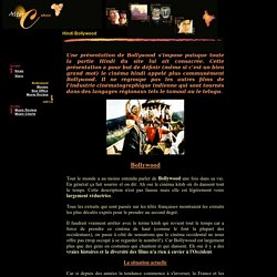 Bollywood Historique et Présentation