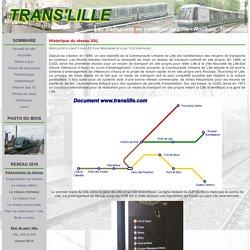 Historique du réseau VAL - Trans'Lille
