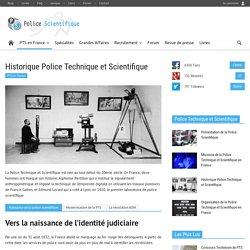 Historique de l'ADN dans la police scientifique - Police Scientifique