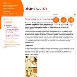 Historique - Stop-alcool.ch
