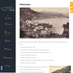 Historique - Théoule-sur-Mer