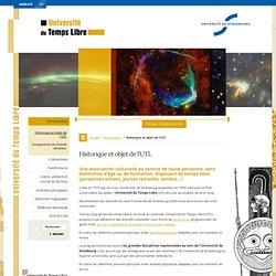 Historique et objet de l'UTL-Université du Temps Libre - Université de Strasbourg