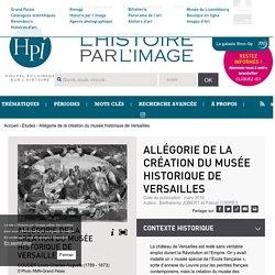 Allégorie de la création du musée historique de Versailles