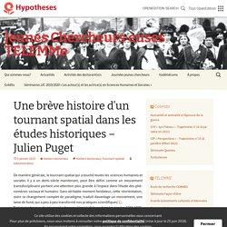 Une brève histoire d'un tournant spatial dans les études historiques – Julien Puget