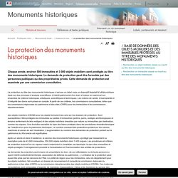 La protection des monuments historiques - Monuments historiques