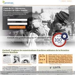 1914-1918 : Archives militaires et historiques : recherches généalogiques – Collections genealogie.com